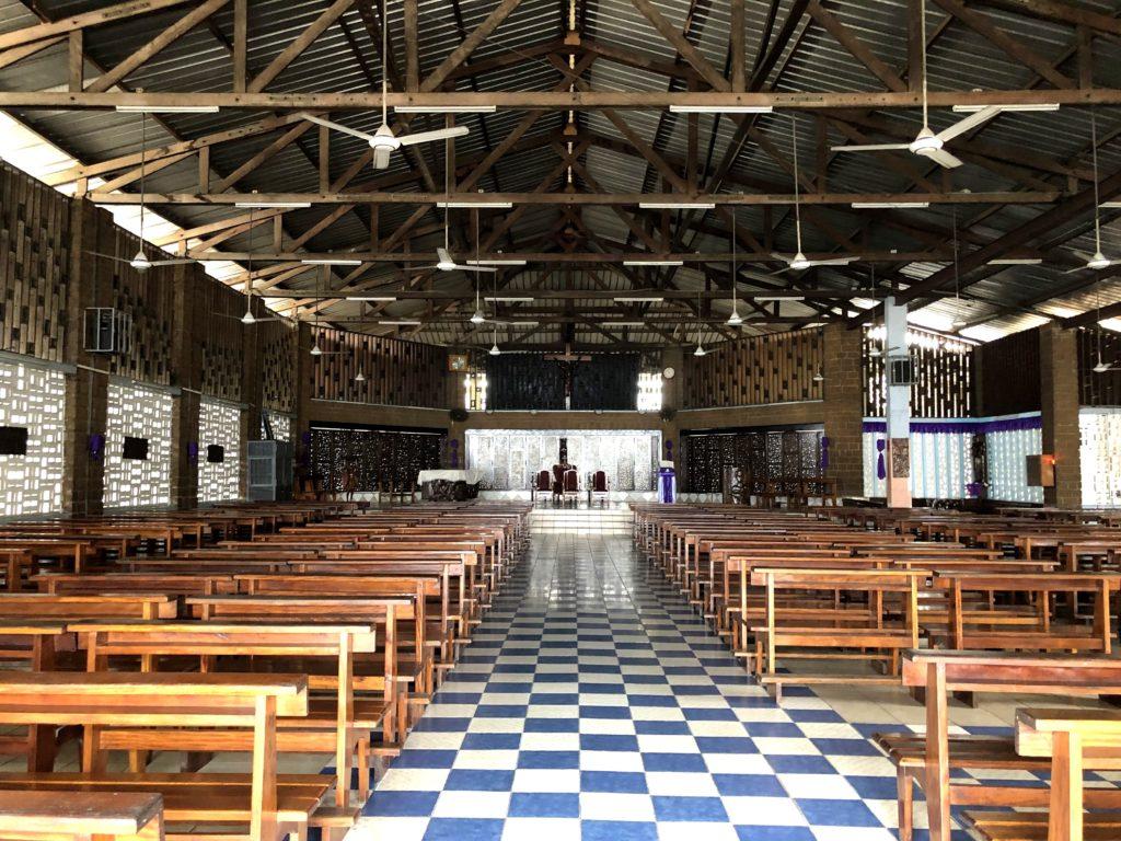 L'Eglise St-Michel , Libreville