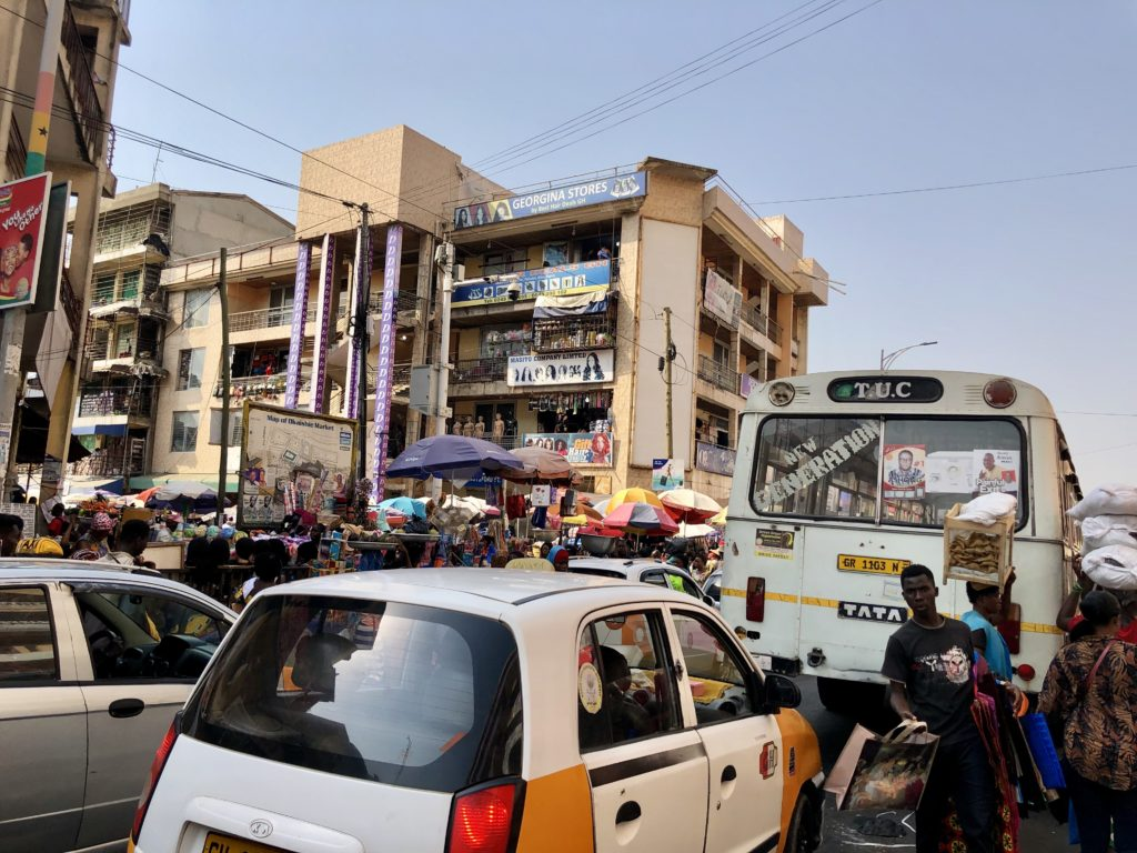 Accra (Akra)'da gezilecek yerler